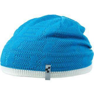 Cube Beanie Logo LTD, blue´n´white - Mütze