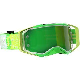 Scott Prospect Goggle Dean Lucas Signature Yellow Green Chrome Works green