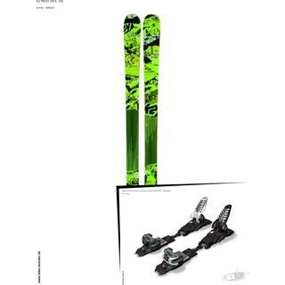 K2 SKI Set: Press 2014 + Marker Griffon Schizo 13