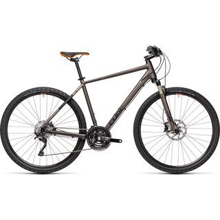 Cube Nature SL 2021, teak´n´orange - Fitnessbike