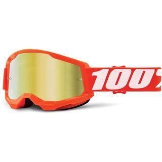 100% Strata - Gold Mirror orange