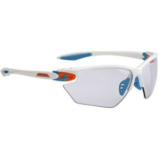 Alpina Twist Four S VL+, prosecco white/Lens: varioflex+ black - Sportbrille