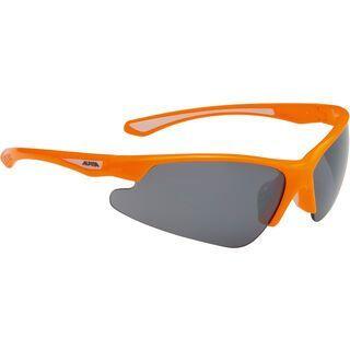 Alpina Levity , orange/Ceramic Mirror Black - Sportbrille