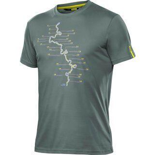 Mavic Paris-Roubaix Tee, balsam green - T-Shirt