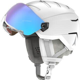 Atomic Savor GT Visor Stereo, white - Skihelm