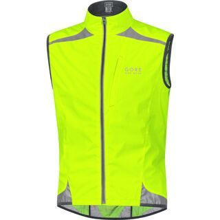 Gore Bike Wear Visibility Windstopper Active Shell Weste, neon yellow - Radweste