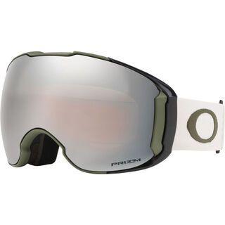 Oakley Airbrake XL Prizm inkl. WS, dark brush grey/Lens: black iridium - Skibrille