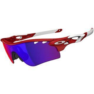 Oakley Radarlock Path Vented, Infrared/Positive Red Iridium & VR28 - Sportbrille