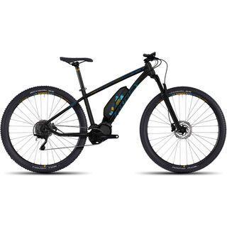Ghost Hybride Lanao 4 AL 29 2017, black/blue/yellow - E-Bike