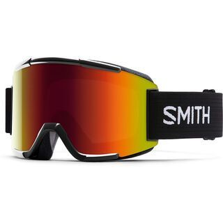 Smith Squad + Spare Lens, black/red sol-x mirror - Skibrille