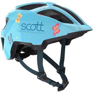 Scott Spunto Kid Helmet, light blue - Fahrradhelm