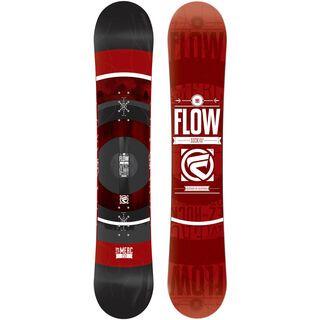 Flow Merc Wide 2015, black - Snowboard