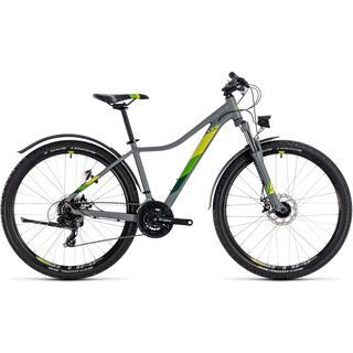 Cube Access Allroad 27.5 2018, grey´n´green - Mountainbike