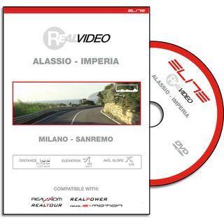 Elite DVD für RealAxiom, RealPower und RealTour - Milano Sanremo Alassio-Imperia - DVD