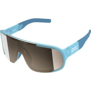 POC Aspire Clarity Brown/Silver Mirror basalt blue