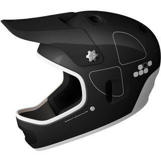 POC Cortex Flow, shiny black - Fahrradhelm