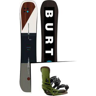 Set: Burton Custom 2019 +  Malavita EST (2218372S)