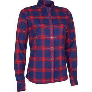 ION Shirt LS Violet, sea blue - Hemd