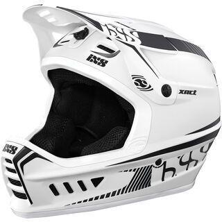 IXS Xact, white-black - Fahrradhelm