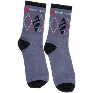 Five Ten 5.10 Sock, Grey/Black - Radsocken