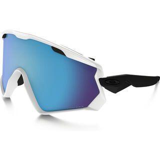 Oakley Wind Jacket 2.0 Prizm, matte white/Lens: prizm sapphire iridium - Skibrille
