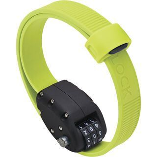 Otto DesignWorks Ottolock Cinch Lock - 46 cm, flash green - Fahrradschloss