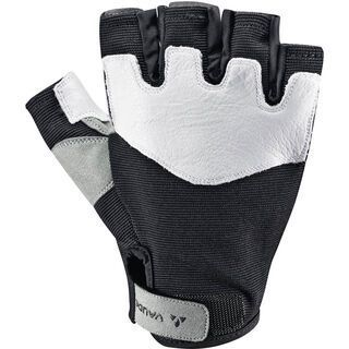 Vaude Cristallo Half Finger Gloves, black - Fahrradhandschuhe
