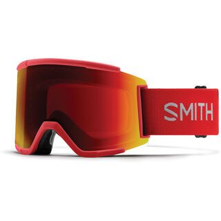 Smith Squad XL inkl. WS, rise/Lens: cp sun red mirror - Skibrille