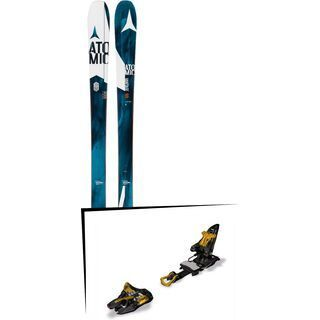 Set: Atomic Vantage 90 CTI 2017 + Marker Kingpin 10 75-100 mm, black/gold - Skiset