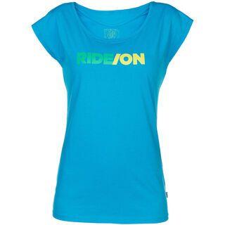 ION Tee SS Rad, blue danuebe - T-Shirt