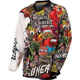 ONeal Mayhem Jersey Crank, black/multi - Radtrikot