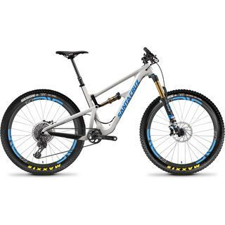 Santa Cruz Hightower CC XX1 ENVE 27.5 Plus 2018, grey/blue - Mountainbike