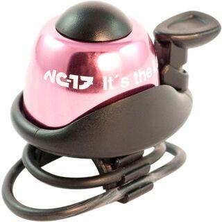 NC-17 Safety Bell, pink - Fahrradklingel