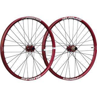 Spank Oozy Trail 345 Wheelset 27.5, red - Laufradsatz
