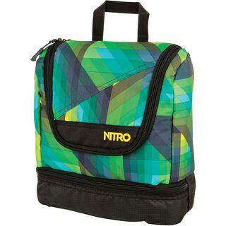 Nitro Travel Kit, geo green - Kulturbeutel