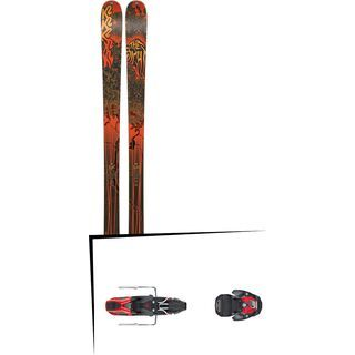 Set: K2 SKI Sight 2019 + Atomic Warden MNC 11 black/red