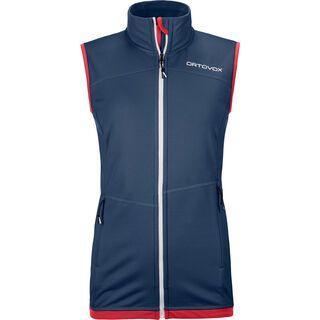 Ortovox Merino Fleece Light Vest W, night blue - Fleeceweste