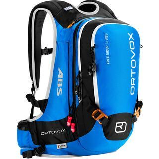 Ortovox Free Rider 26 ABS inkl. M.A.S.S UNIT, blue ocean - ABS-Rucksack