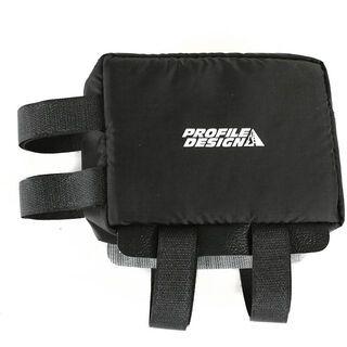 Profile Nylon Zipper E-Pack groß, black - Rahmentasche