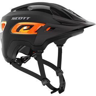 Scott Stego Helmet, black orange matt - Fahrradhelm