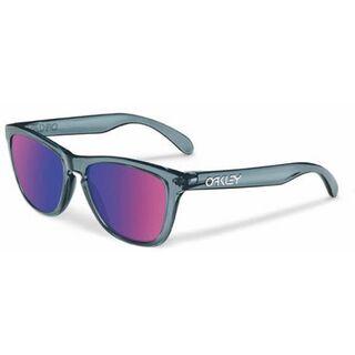 Oakley Frogskins, Crystal Black/Positive Red Iridium - Sonnenbrille