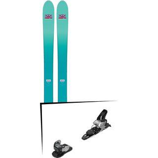 Set: DPS Skis Nina F99 Foundation 2018 + Salomon Warden MNC 11 silver/black