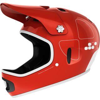 POC Cortex Flow, bohrium red - Fahrradhelm
