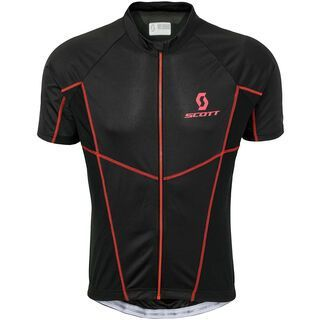 Scott Helium 20 s/sl Shirt, black/red - Radtrikot