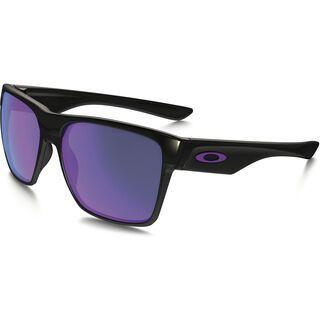 Oakley TwoFace XL, polished black/Lens: violet iridium - Sonnenbrille
