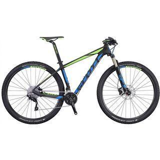 Scott Scale 735 2016, black/blue/green - Mountainbike