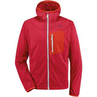 Vaude Men's Durance Hooded Jacket, red - Jacke