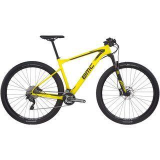 BMC Teamelite 02 Deore/SLX 2017, sulphur - Mountainbike