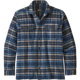 Patagonia Men's Long-Sleeved Fjord Flannel Shirt, new navy - Hemd