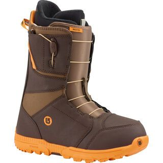 Burton Moto 2016, Brown/Orange - Snowboardschuhe